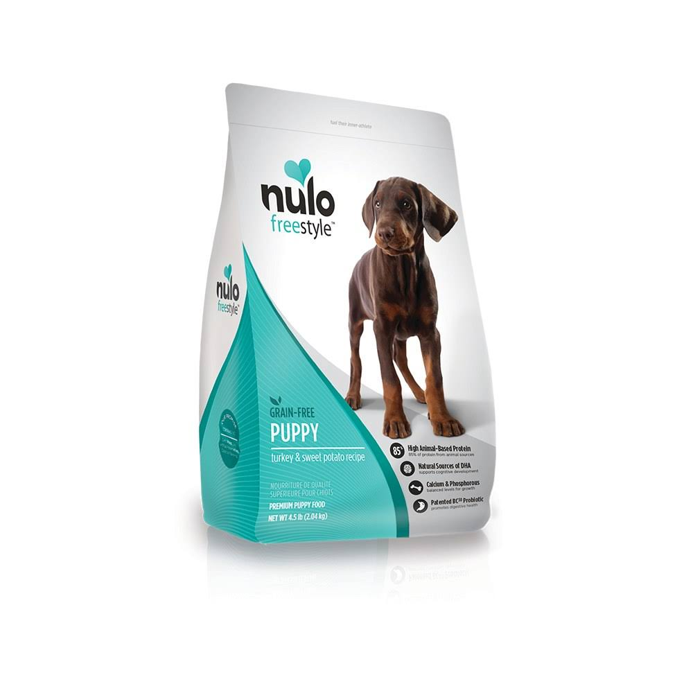 Nulo FreeStyle Grain Free Dry Puppy Food - Turkey & Sweet Potato, 4.5lb