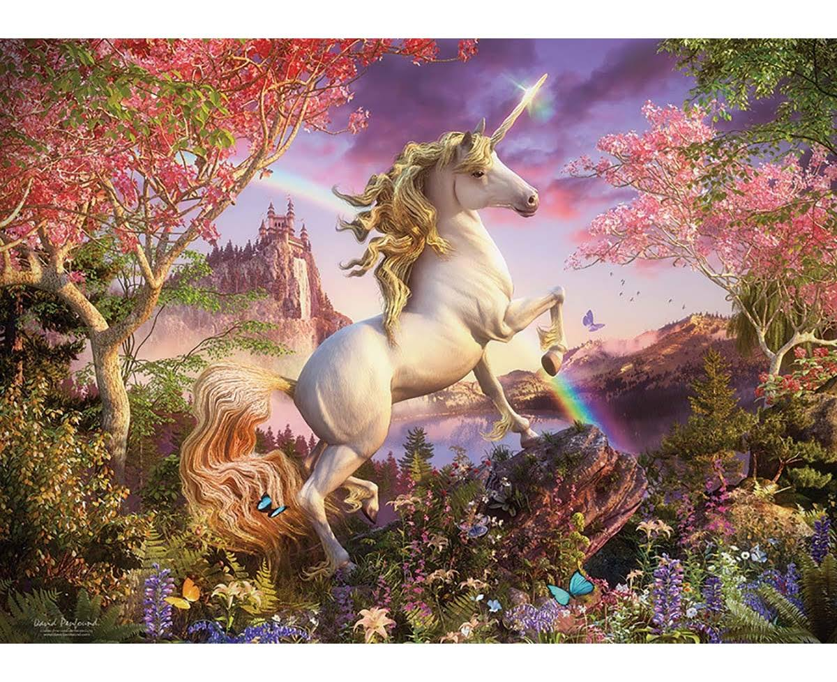 Cobble Hill Unicorn 1000 Piece Jigsaw Puzzle