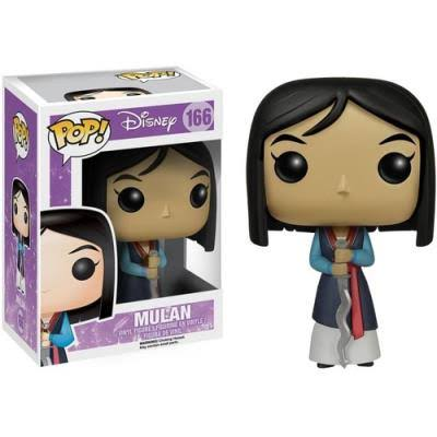 Funko Pop Disney Figurine - Mulan, 10cm
