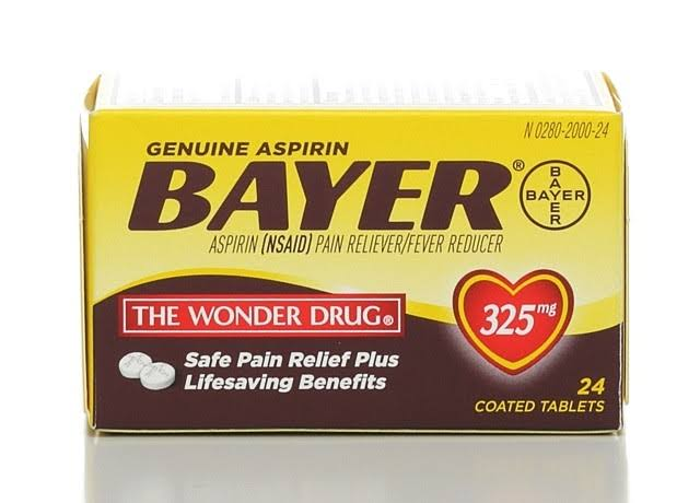 Bayer Aspirin - 24 Coated Tablets