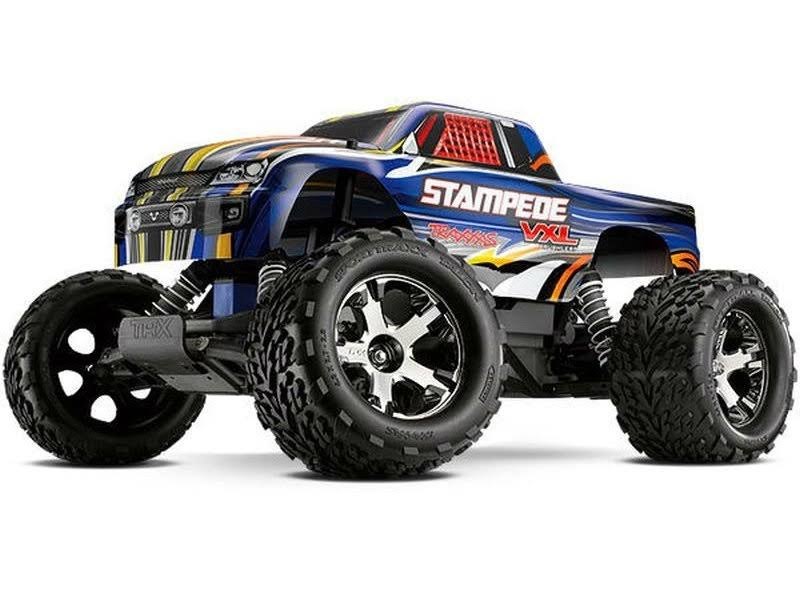 Traxxas Stampede VXL RTR Toy Truck
