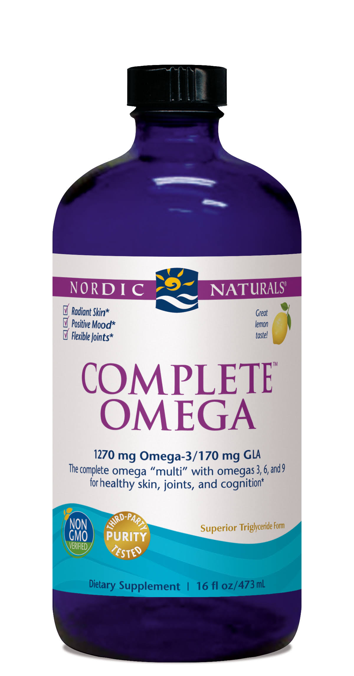 Nordic Naturals Complete Omega Dietary Supplement - 16oz