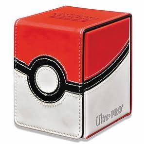 Ultra Pro ULP85313 Pokemon Ball Alcove Flip Game Deck Box