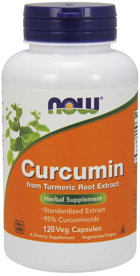 Now Foods Curcumin Softgels - 120 Softgels