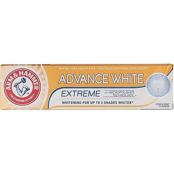 Arm & Hammer Advance White Extreme With Micropolisher Technology Baking Soda Toothpaste - 75ml