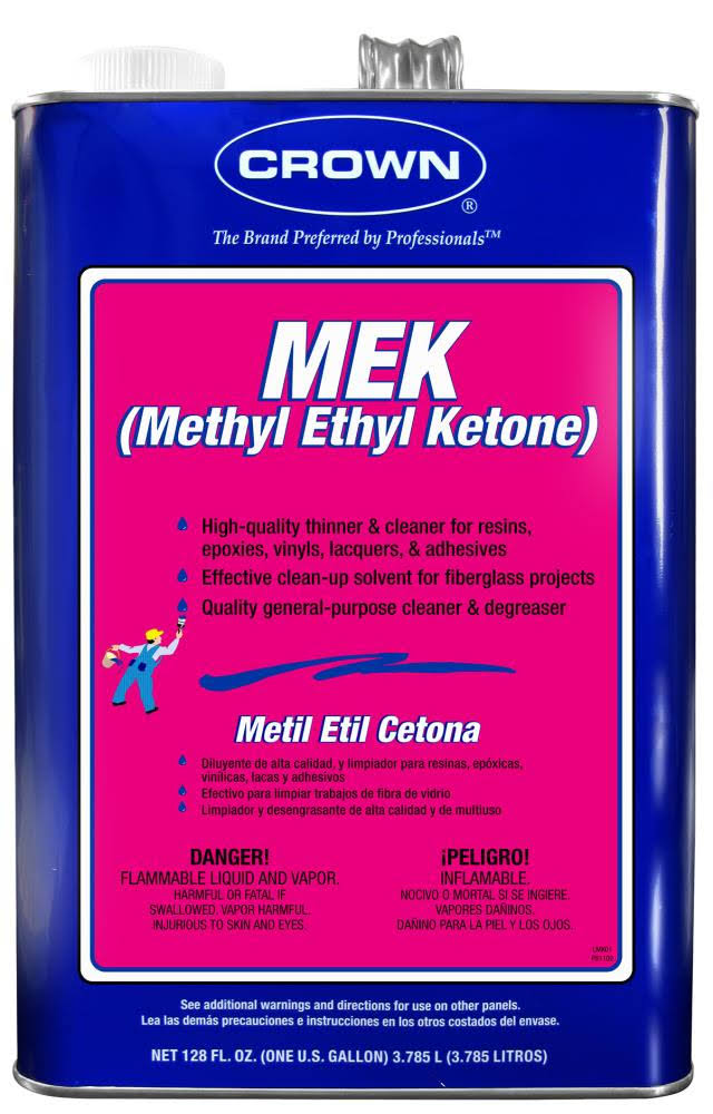 Crown Methyl Ethyl Ketone - 1 gal