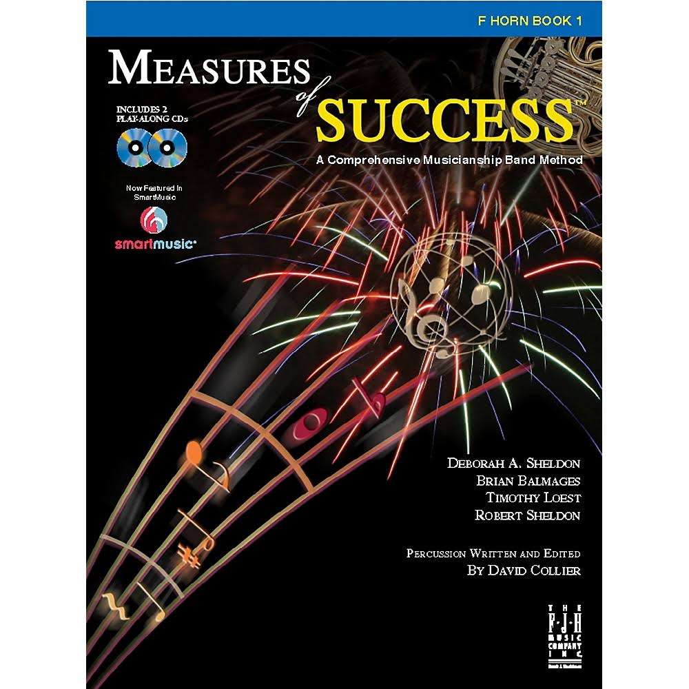 Measures of Success F Horn Book - FJH Music