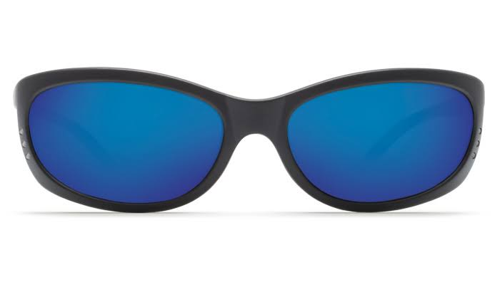 Costa Del Mar FA11OBMP Fathom FA 11 Sunglasses - Matte Black Frame and Blue Lens