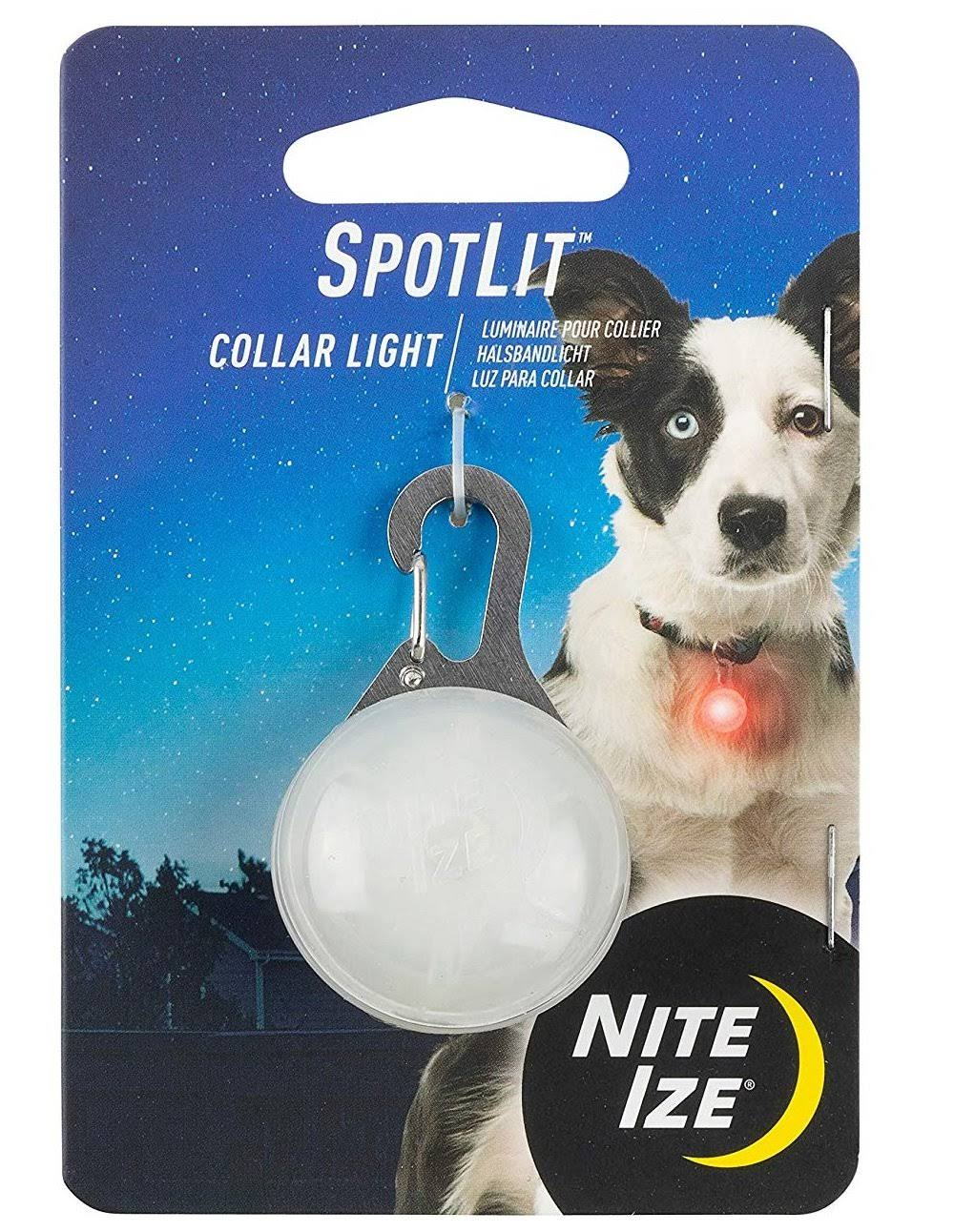 Nite Ize Spotlit Collar Light Red