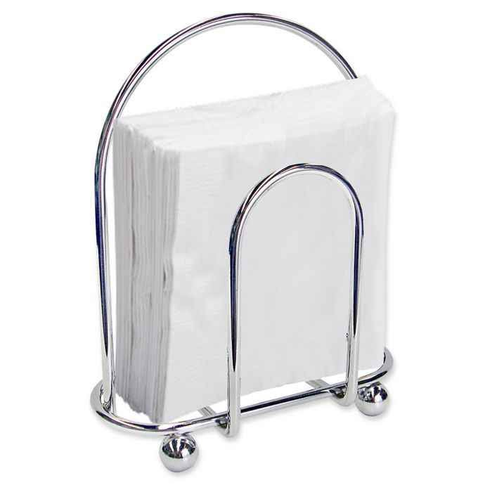 Home Basics Chrome Napkin Holder
