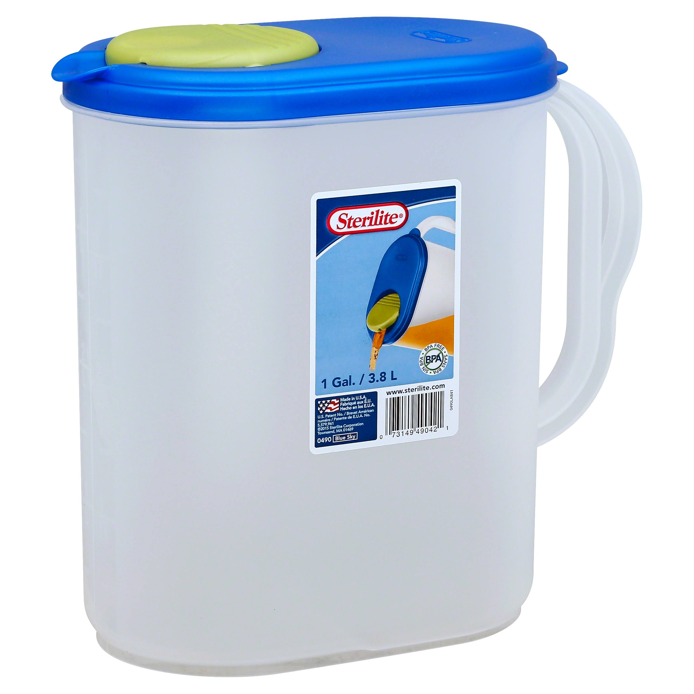 Ultra Seal Sterilite Pitcher - 1gal, 3pk