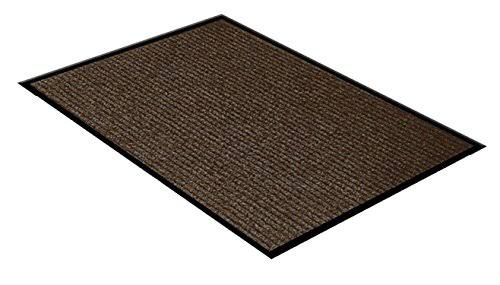 "WJ Dennis Door Mat - Indoor & Outdoor, Brown, 36""x48"""