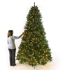 Lifelike Artificial Christmas Trees Canada by Pre Lit Green North Valley Spruce Artificial Christmas Tree