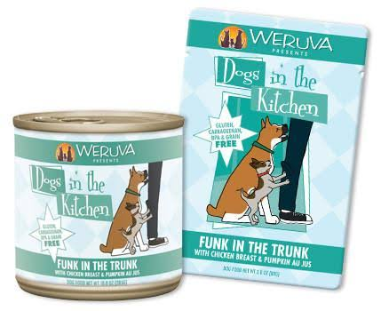 Weruva Dogs In The Kitchen Funk in the Trunk Grain Free Dog Food