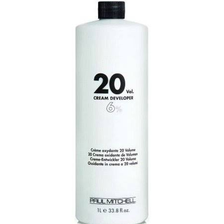 Paul Mitchell 20 Volume Cream Developer - 33.8oz