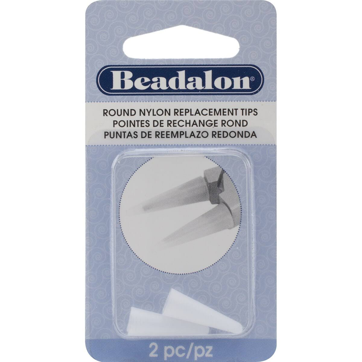 Beadalon Nylon Replacement Tips - for Round Nose Pliers, 2ct