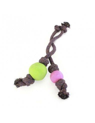 Beco Ball on Rope - Green Large