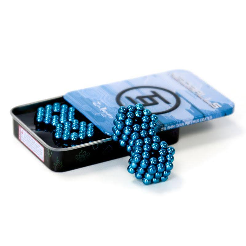 216 Set: Cyan Neoballs 5mm Magnetic Balls 216