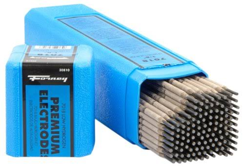 "Forney 30810 E7018 Welding Rod - 1/8"", 10lbs"