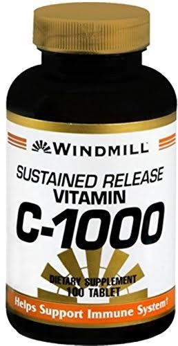 Windmill Vitamin C-1000 Dietary Supplement - 100 Tablets S