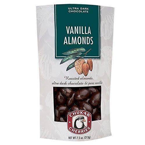Chukar Cherries Vanilla Almonds with Ultra