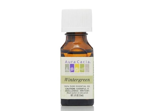 Aura Cacia Pure Essential Oil, Wintergreen - 0.5 fl oz bottle