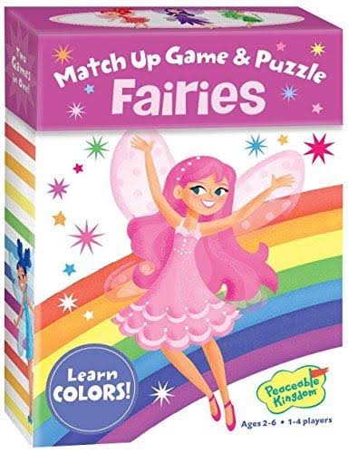 Princess Fairies Match Up Game & Puzzle
