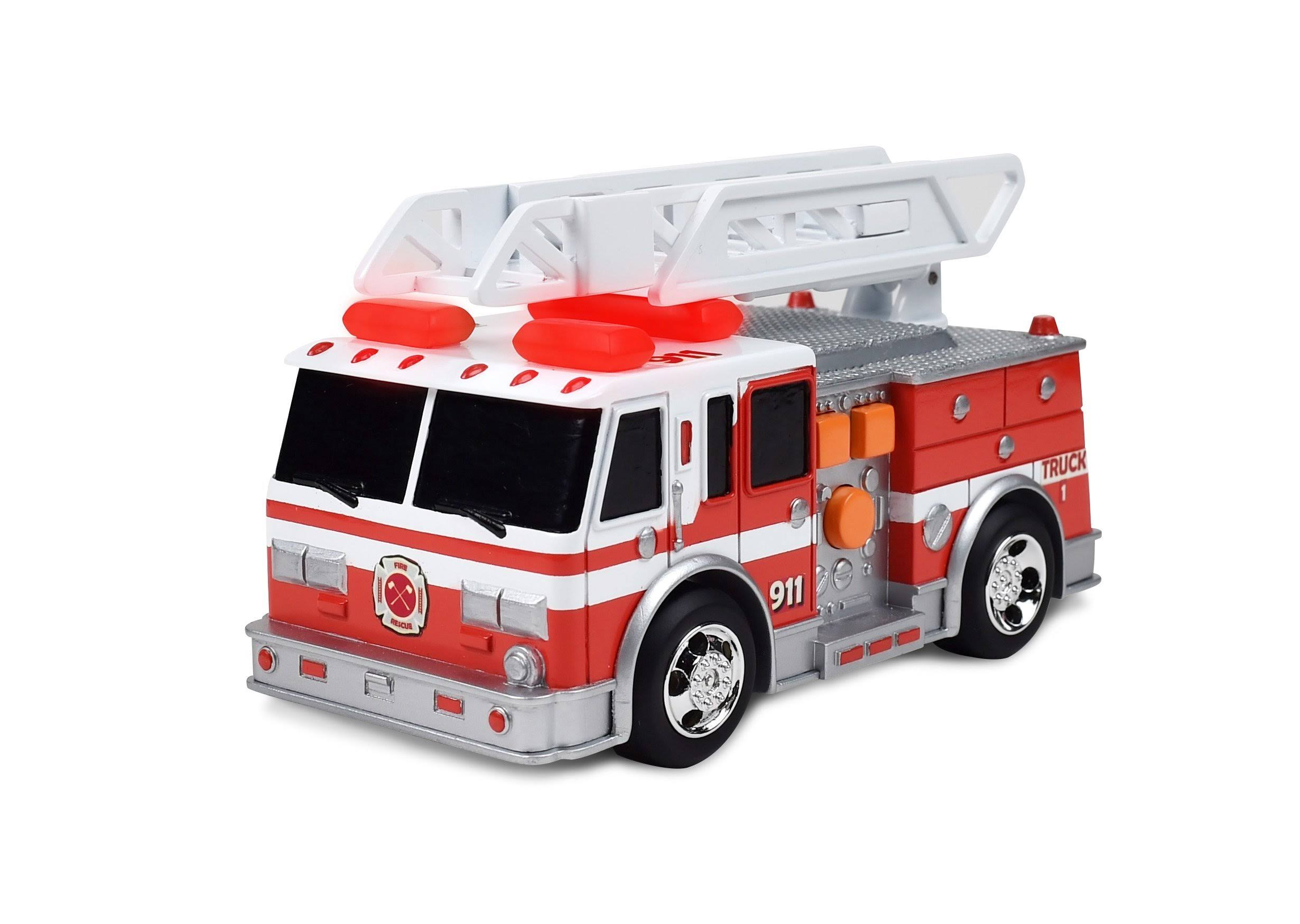 Maxx Action Light & Sound Rescue Vehicles Fire Truck Toy