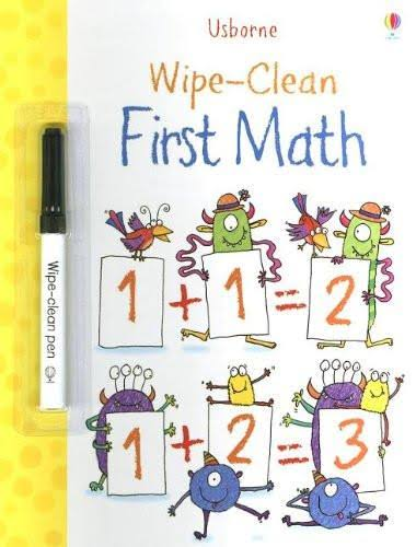 Wipe Clean First Math - Kimberley Scott