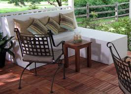 Build Outdoor Storage Bench by How To Build Outdoor Patio Bench With Ottoman Hgtv