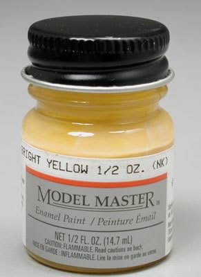 Model Master Enamel Paint - 2717 Bright Yellow