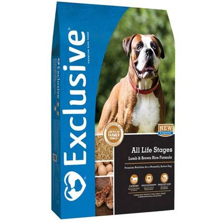Exclusive All Life Stages Lamb & Brown Rice Formula, 5 lbs.