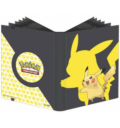 Ultra Pro Pokemon Full-View Pro Binder - Pikachu, 9 Pocket