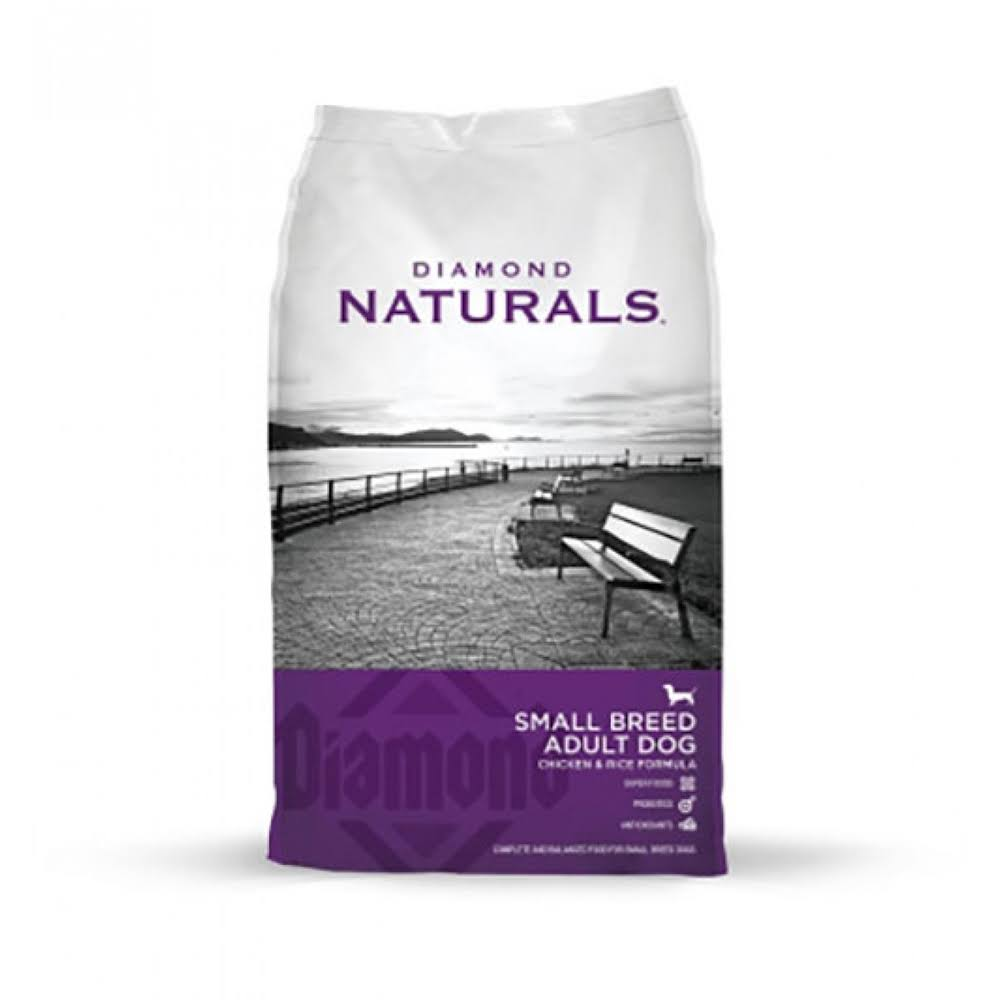 Diamond Naturals Dry Food for Adult Dogs - Small Breed, Chicken and Rice Formula, 18lb