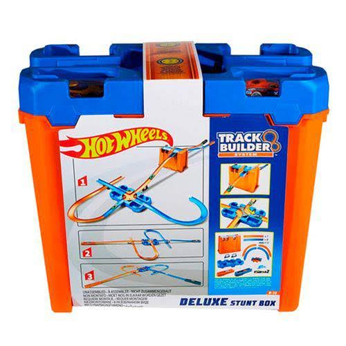 Hot Wheels Track Builder Deluxe Stunt Box