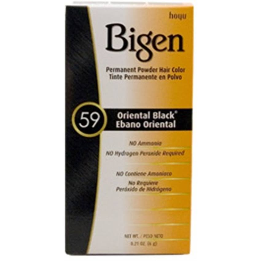 Bigen Powder Hair Color - Oriental Black, 0.21oz