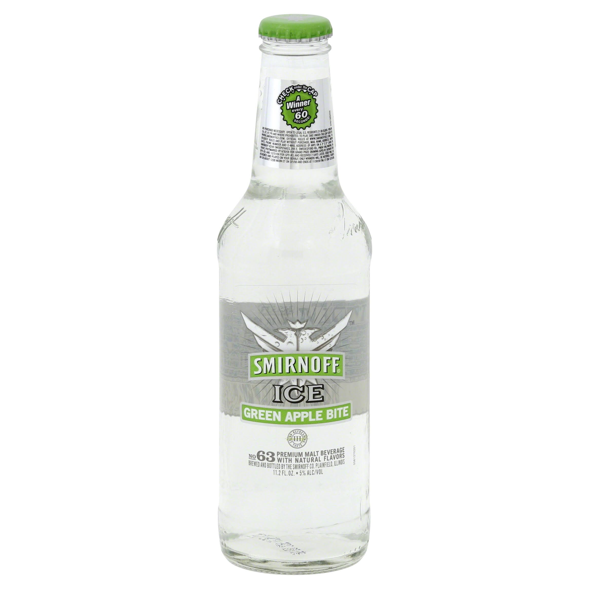 Smirnoff Ice - Green Apple, 24oz