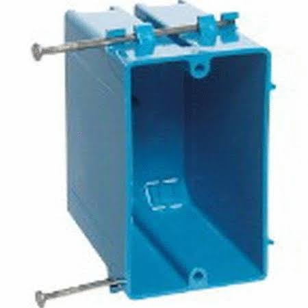 Thomas & Betts B122A-UPC 1-Gang PVC Switch Box 22 Cu in.
