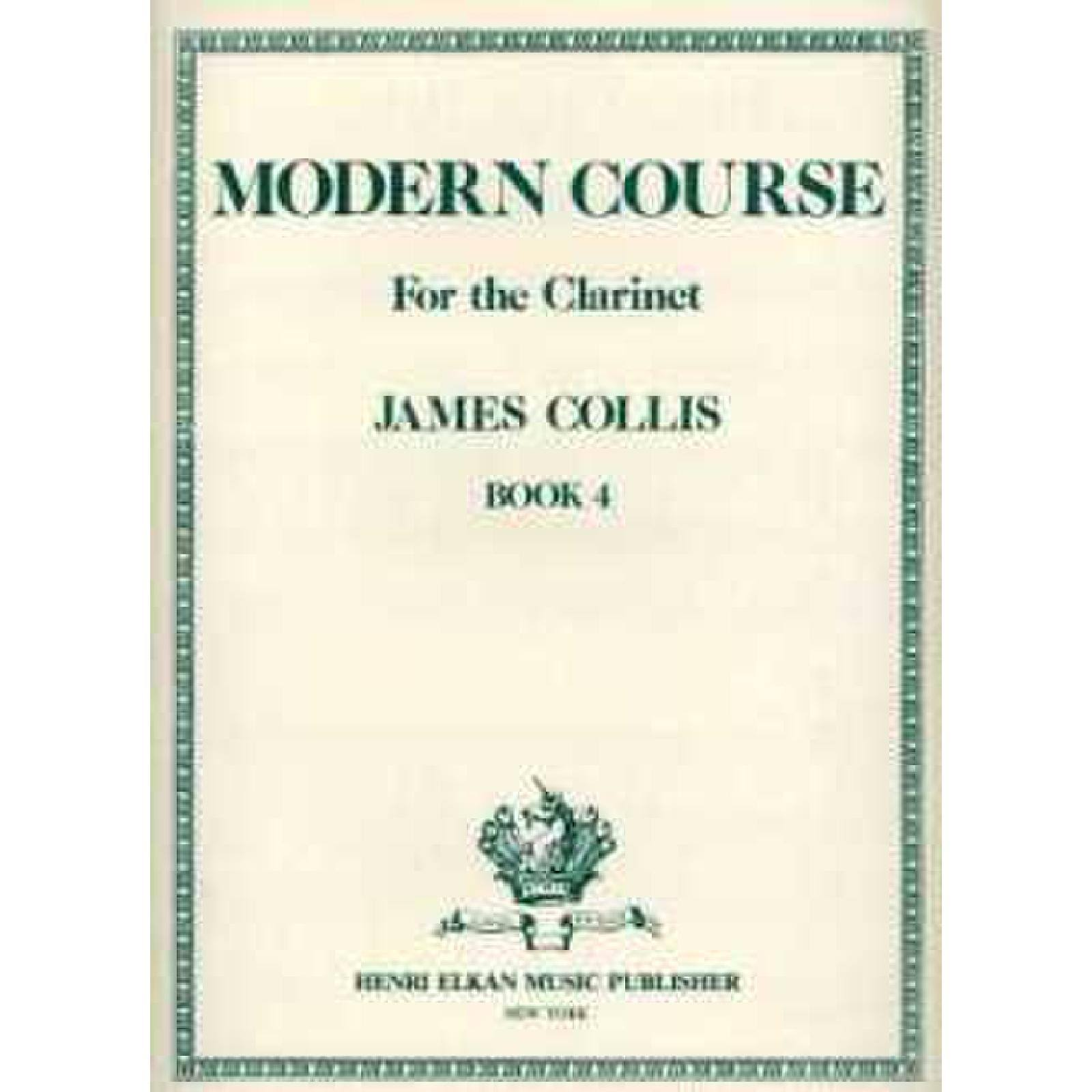 Modern Course for Clarinet Book 4 - Sheet Music
