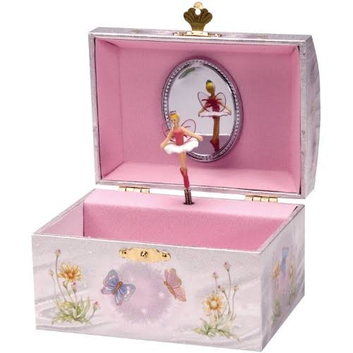 Schylling Iridescent Girls Fairy Jewellery Box by