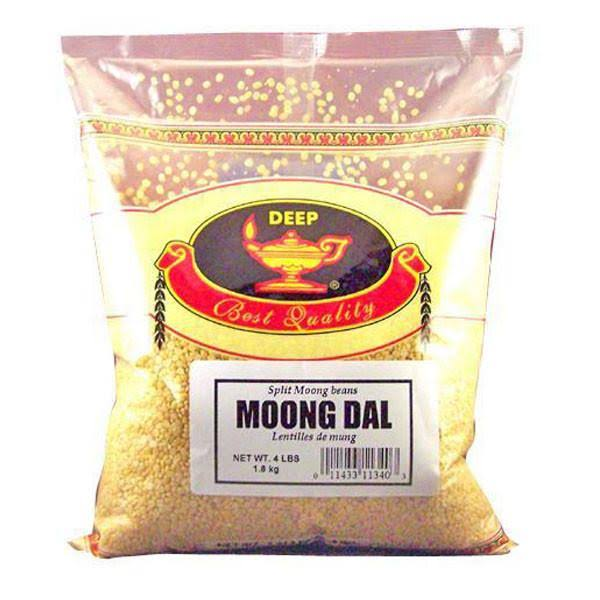 Deep Moong Dal Split Moong Beans - 4lbs