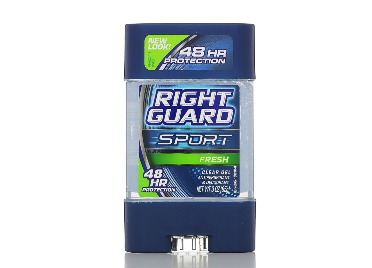 Right Guard Deodorant - Fresh, Clear Gel, 85g