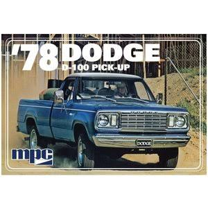 MPC MPC901M - 1/25 1978 Dodge D100 Custom Pickup 2T