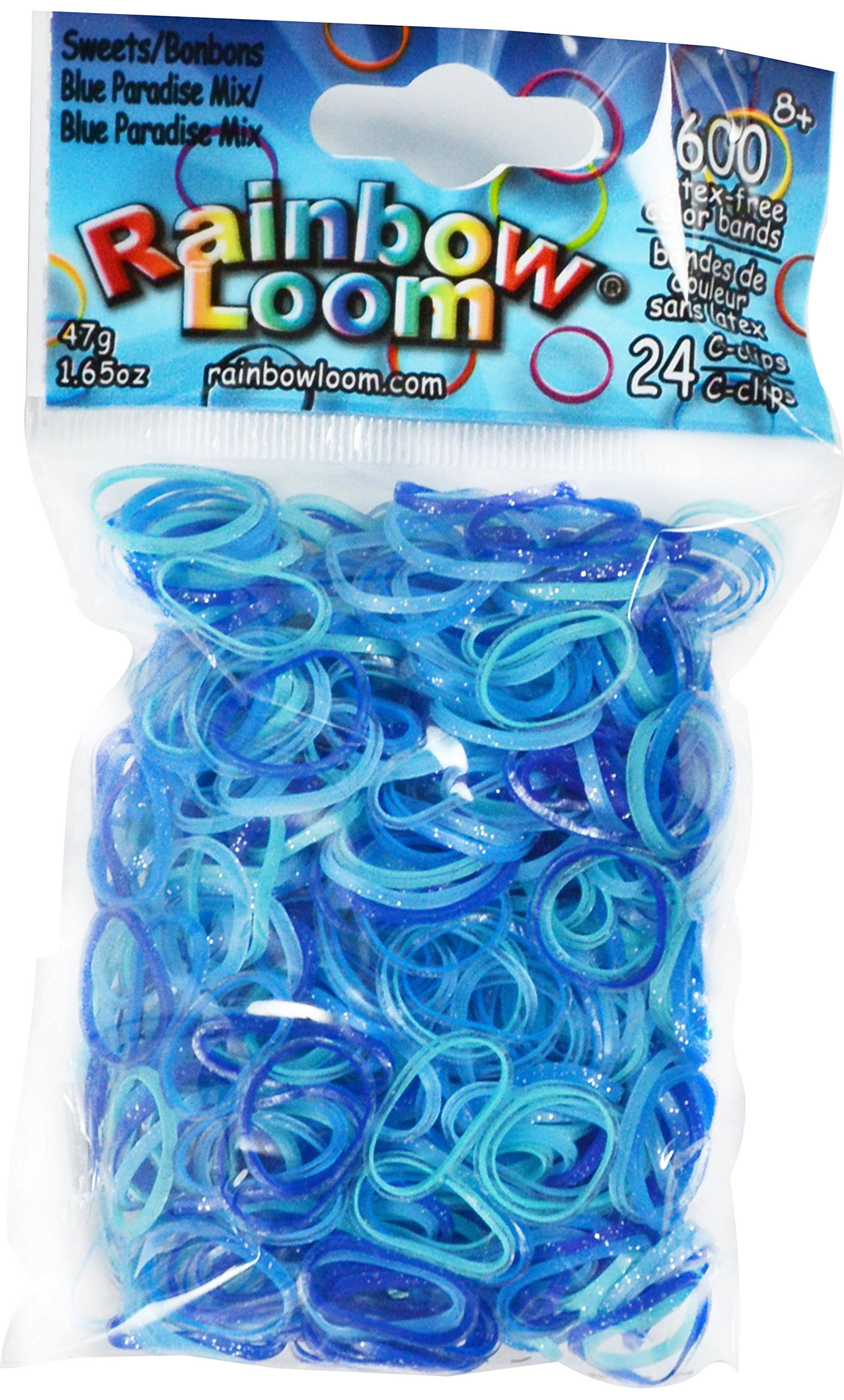 Rainbow Loom Sweets Blue Paradise Mix Bands