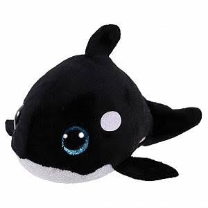 Ty Teeny Tys Orville Plush Toy - Orca, 10cm