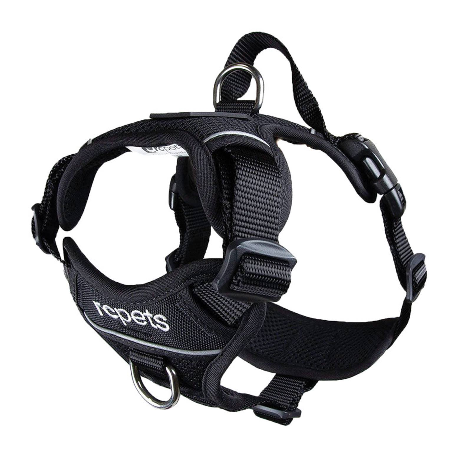 RC Pet Products Momentum Control Dog Harness - Black - Medium