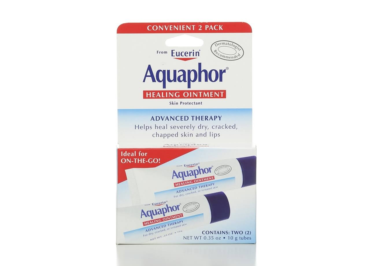 Aquaphor Advanced Therapy Skin Protectant Healing Ointment - 0.35oz, 2pk