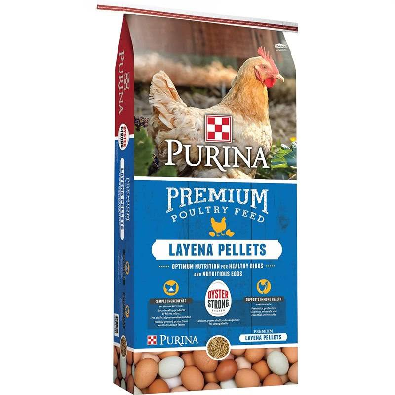 Purina Animal Nutrition Layena Pellet - Oyster, Strong