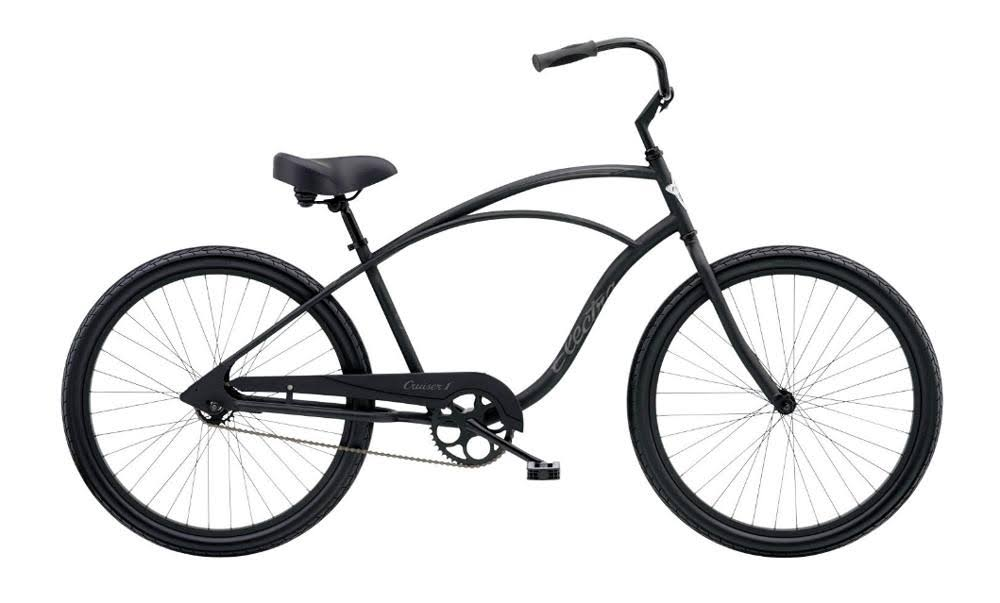 Electra Cruiser 1 Matte Black / Mens