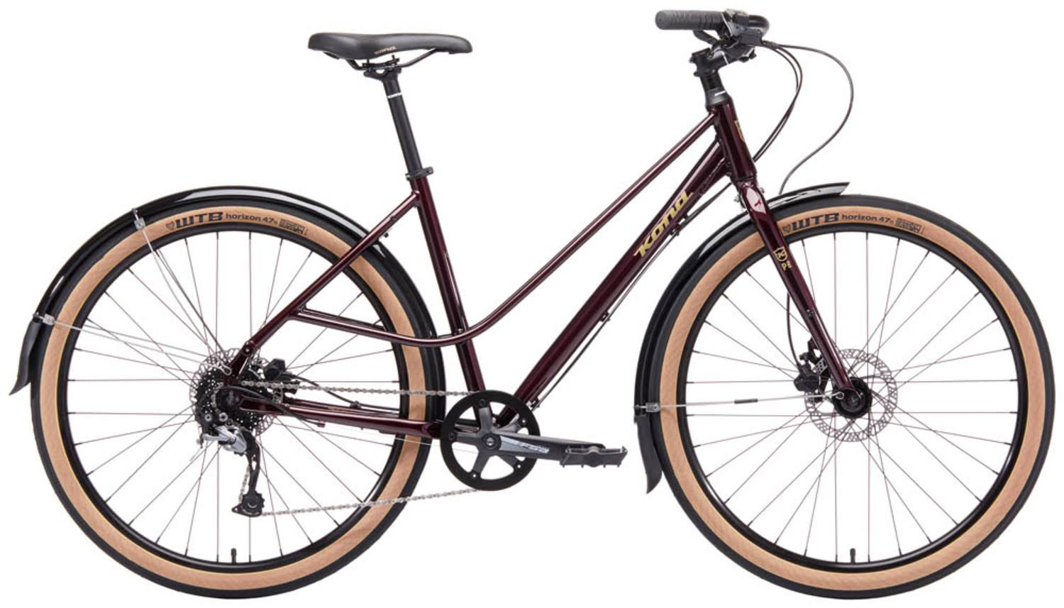 Kona Red Coco Womens Hybrid Bike | 2019 Collection